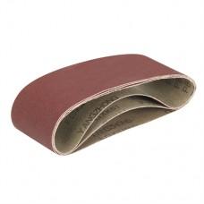 Aluminium Oxide Sanding Belts 3pk TCMBSFPK Sanding Belts 3 pieces 80 / 100 / 120G