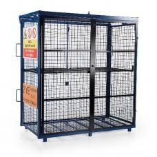 Fold-Away Gas Cage 1700 x 880 x 1735mm